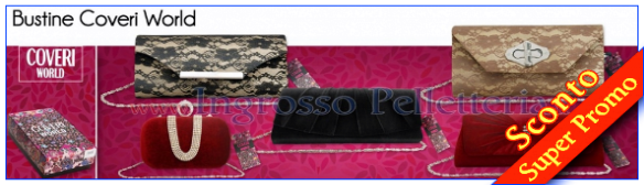 Coveri World pochette cerimonia